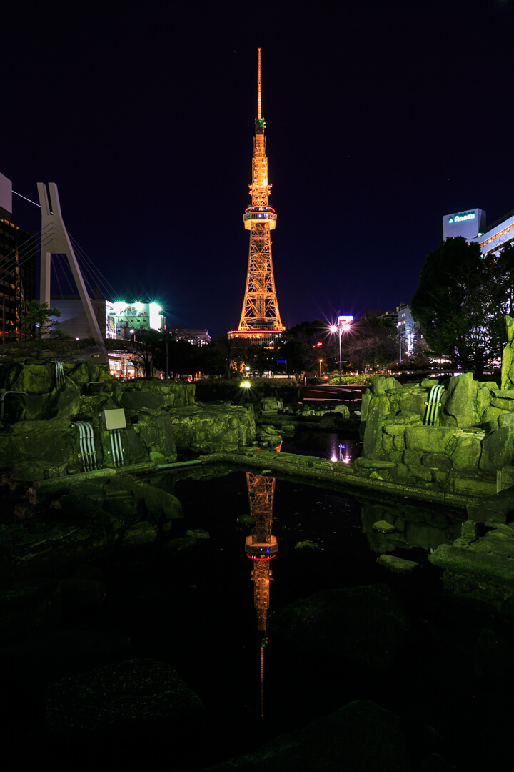 名古屋テレビ塔の夜景写真