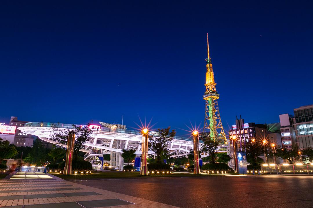 f16で撮影した夜景写真