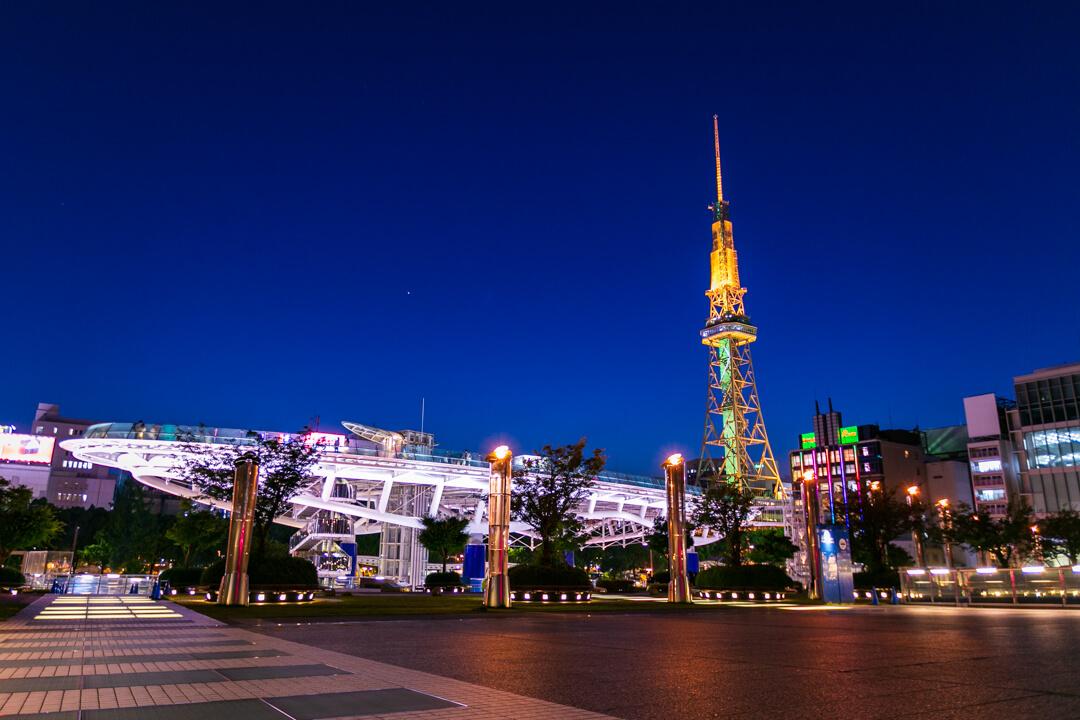 f2.8で撮影した夜景写真