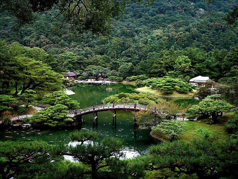 香川県にある栗林公園の写真