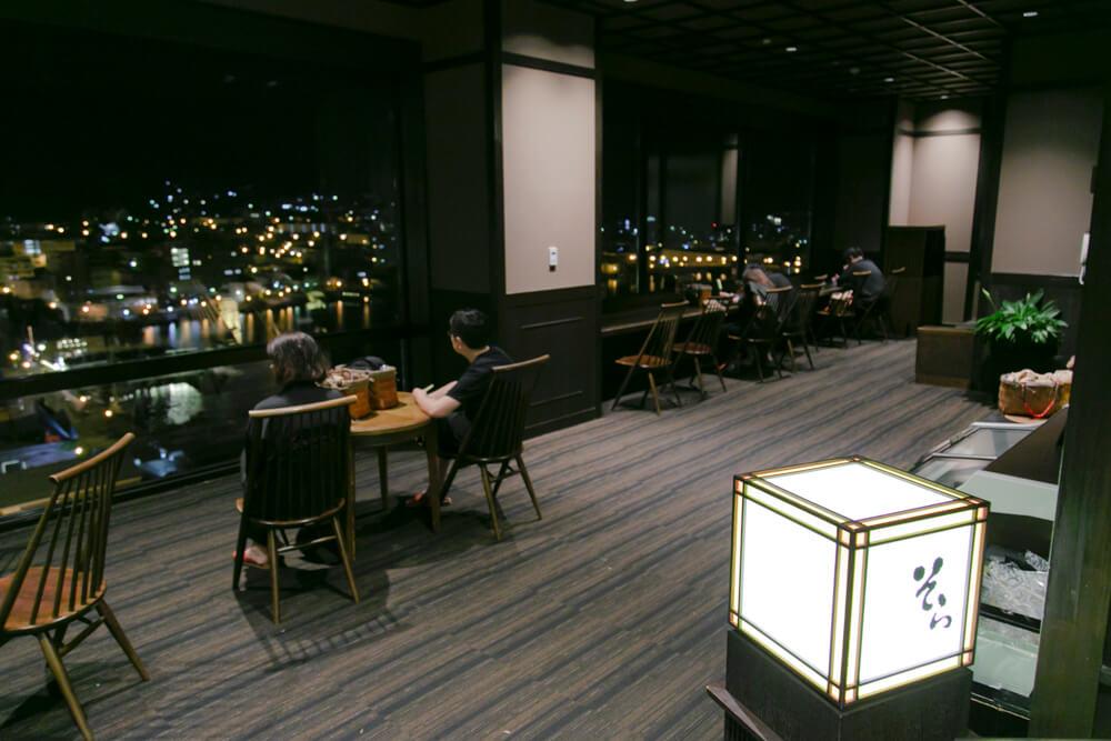 ラビスタ函館ベイの涼み処「そら」の写真