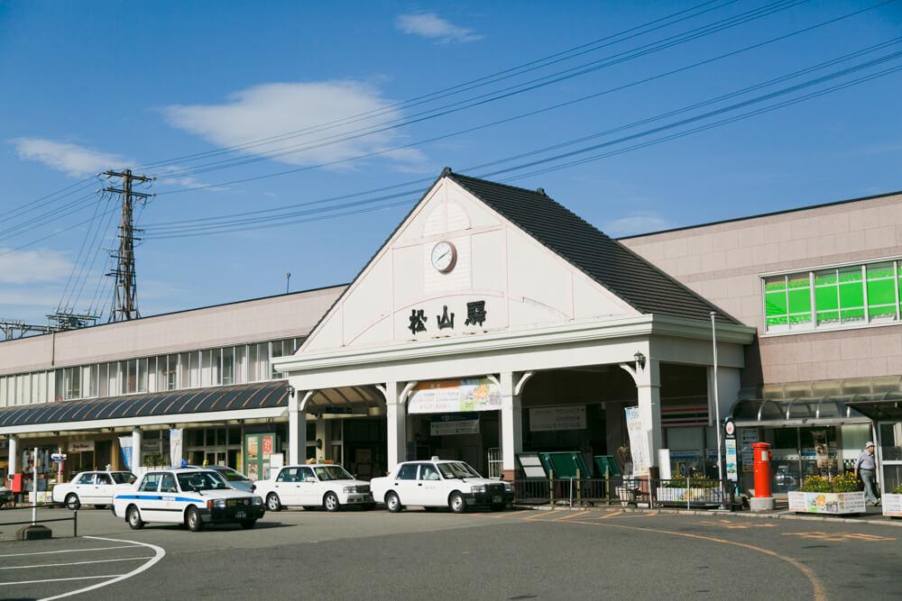 JR四国・松山駅の写真