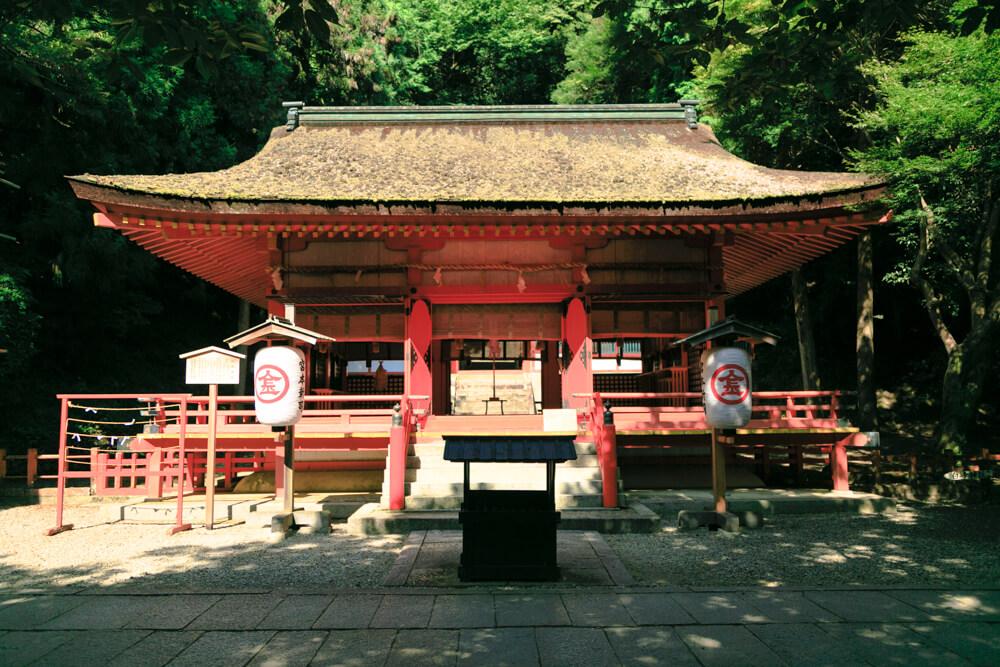 こんぴらさん932段目「白峯神社」の写真