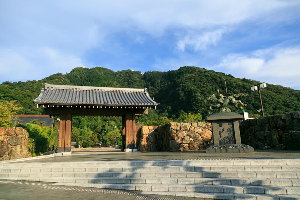 岐阜公園の入り口の写真