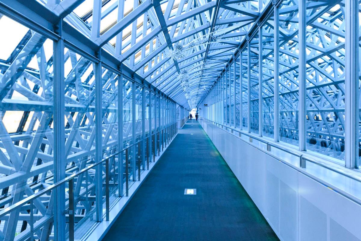 空中回廊の写真