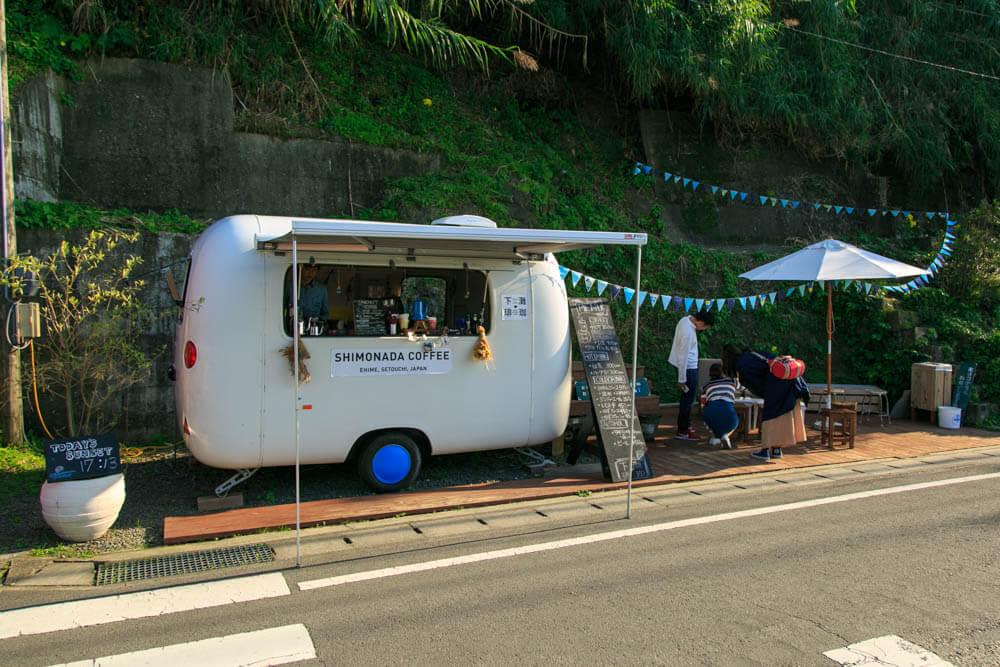 下灘珈琲 (シモナダコーヒー) の外観
