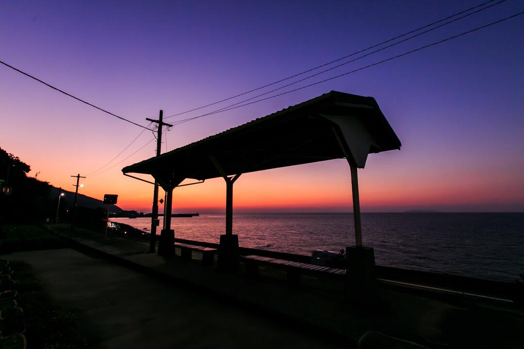 下灘駅と夕日を撮ってきた!おすすめの撮影時期も紹介