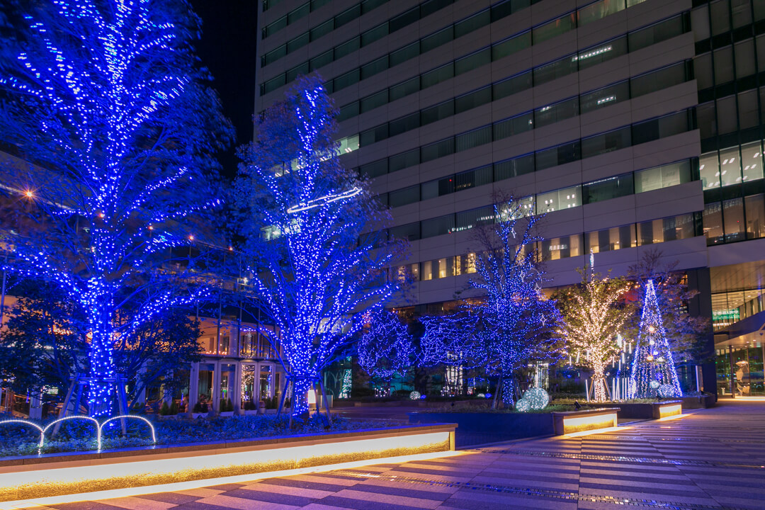 名古屋ルーセントタワーウィンターイルミネーションの写真
