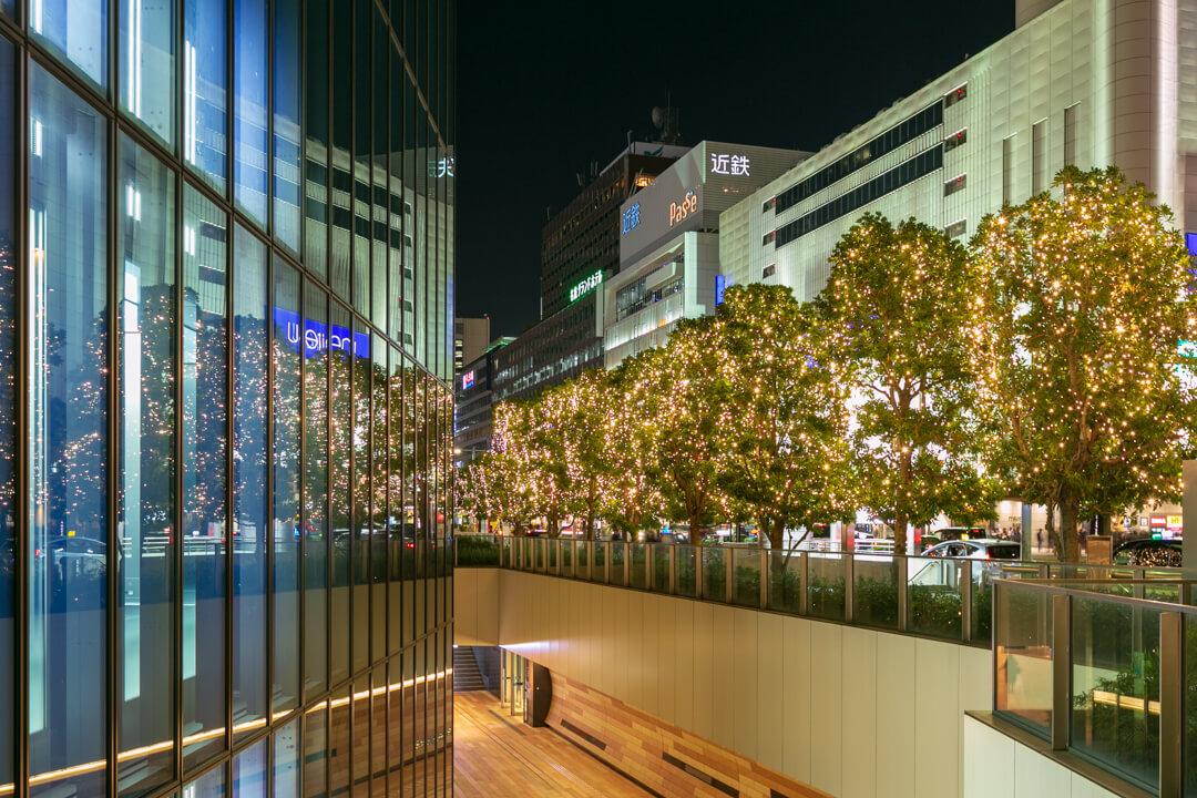 名駅通 イルミネーションの写真