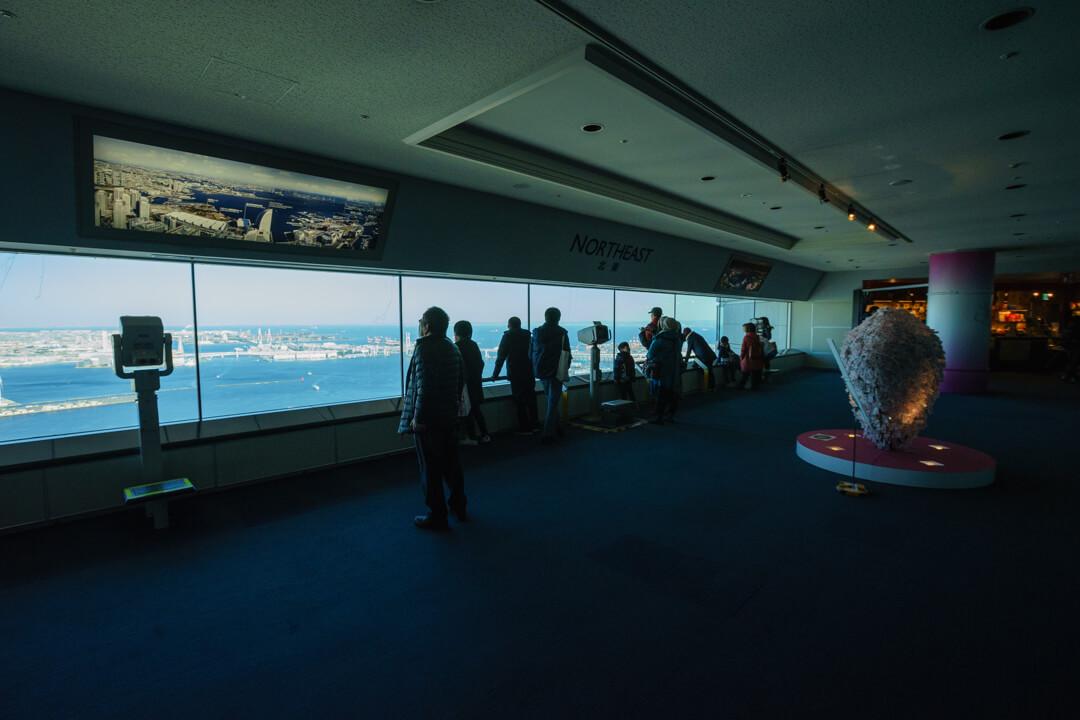 横浜ランドマークタワースカイガーデン内の写真