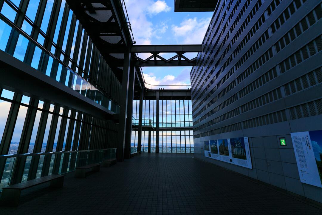 ミッドランドスクエア「スカイプロムナード」の写真