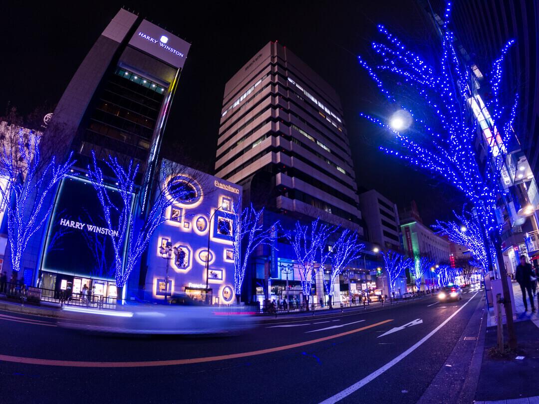 GoProの夜間モードで撮影した写真