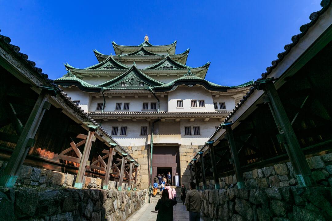 名古屋城天守閣の入り口の写真