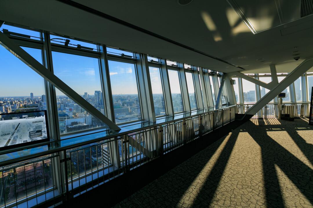 名古屋テレビ塔のスカイデッキの写真