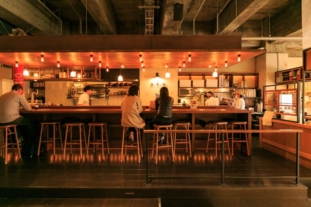 the share hotels hatchi(ハッチ金沢)にあるレストランの写真