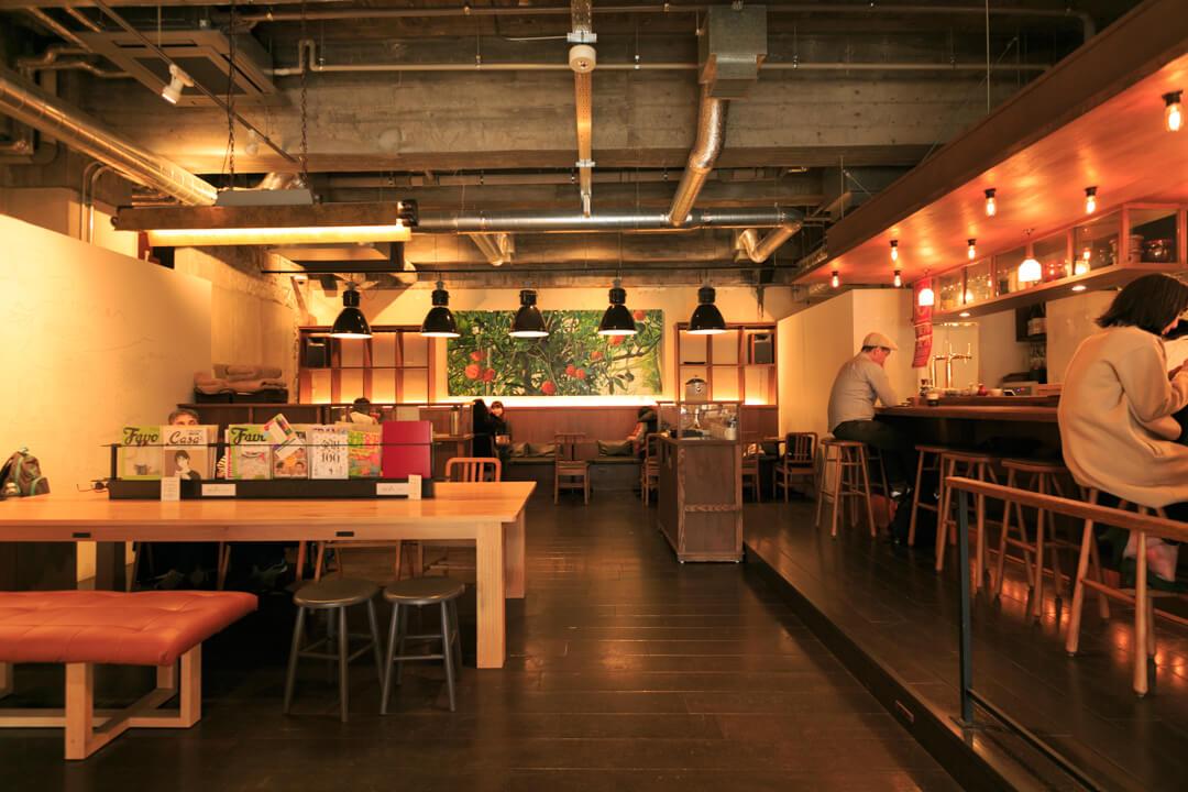 the share hotels hatchi(ハッチ金沢)にあるカフェの写真