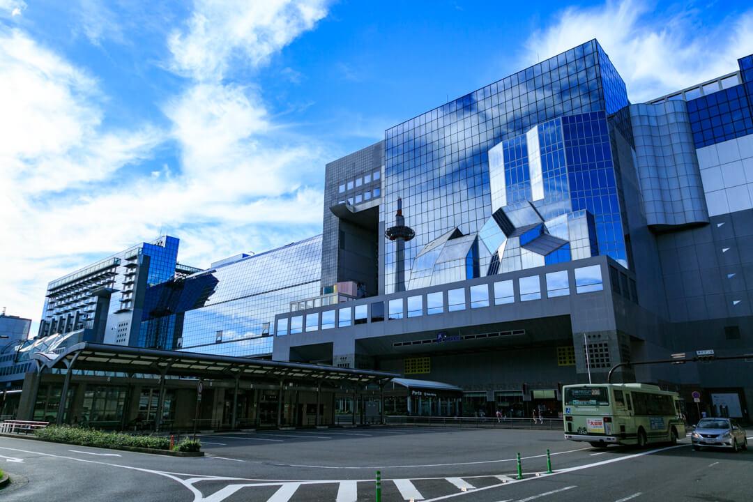 JR京都駅の写真