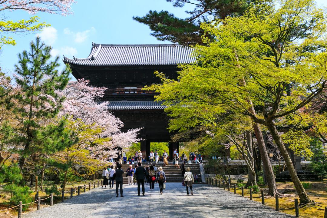 南禅寺山門の写真