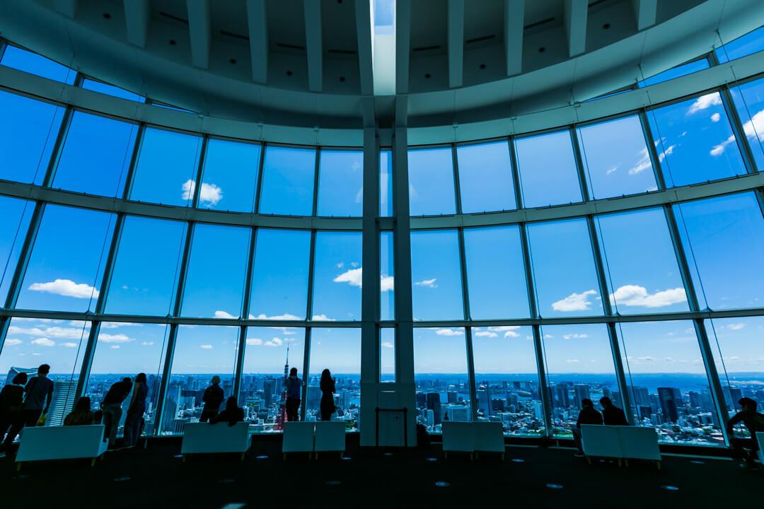 六本木ヒルズ展望台の写真