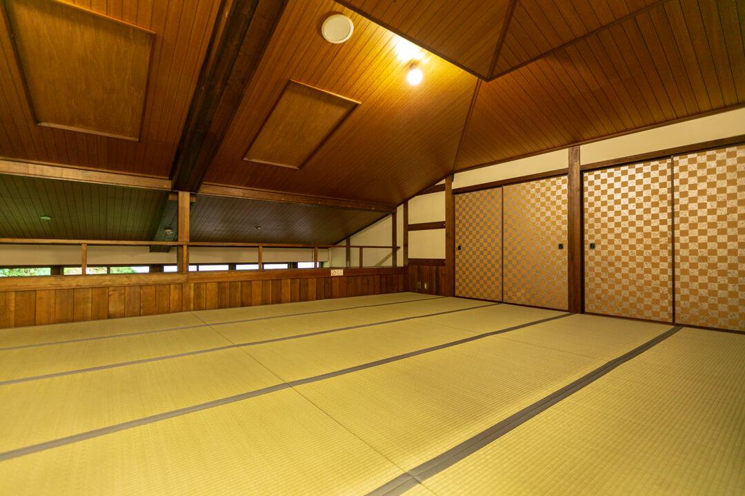 阿智村・浪合パークの仮眠室の写真