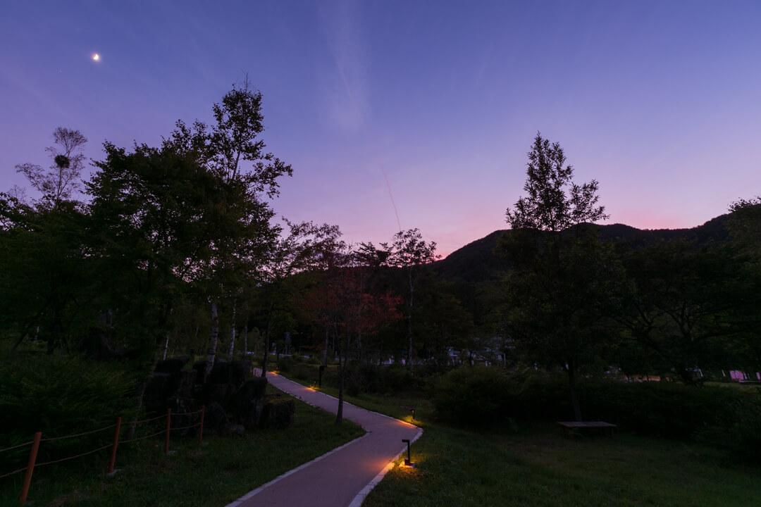 浪合パークの公園の写真