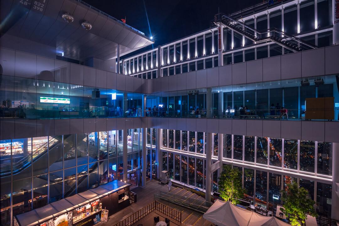 あべのハルカス展望回廊を撮影した写真