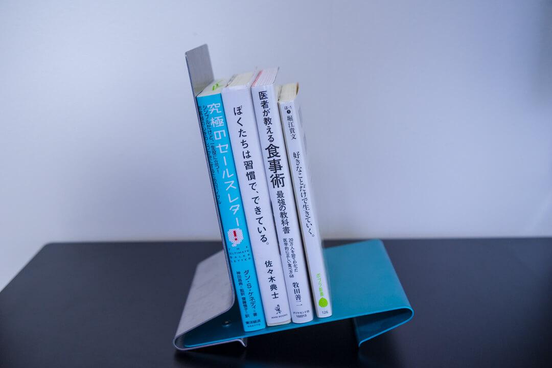 PCデスク周りの便利グッズ・12degrees Bookstandの写真