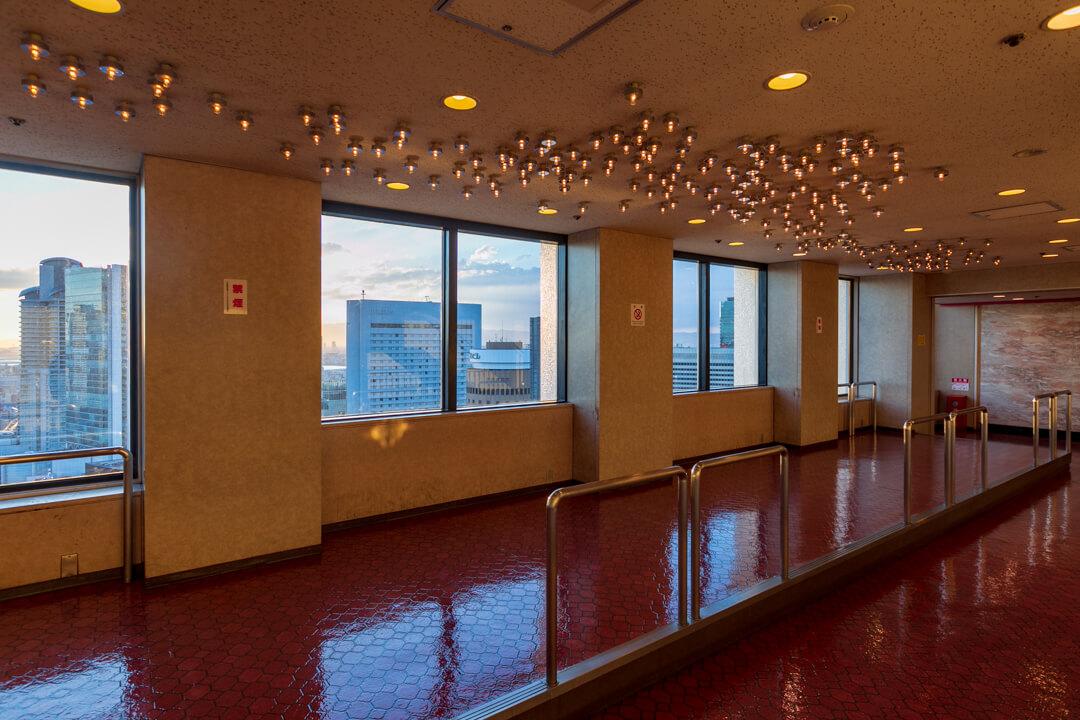 大阪駅前第3ビルの展望台の写真