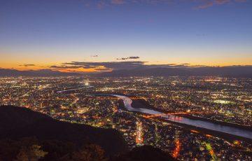 金華山展望台から夜景を撮影してきた!岐阜を代表するおすすめ撮影スポット