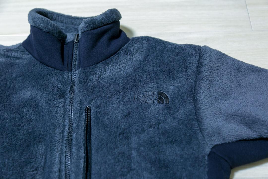 バーサミッドジャケットの素材をアップで撮影した写真
