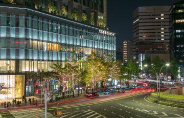 名古屋駅周辺で光輝くイルミネーションを撮ってきた。