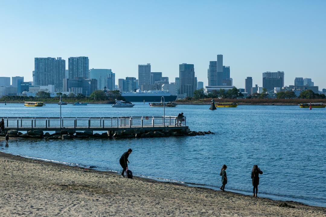 お台場海浜公園の写真