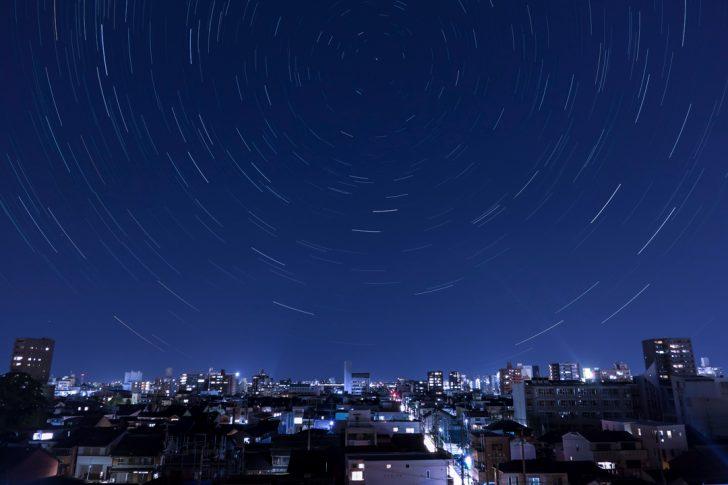 キャノンの「PowerShot」シリーズで星空の軌跡写真を撮影する方法まとめ