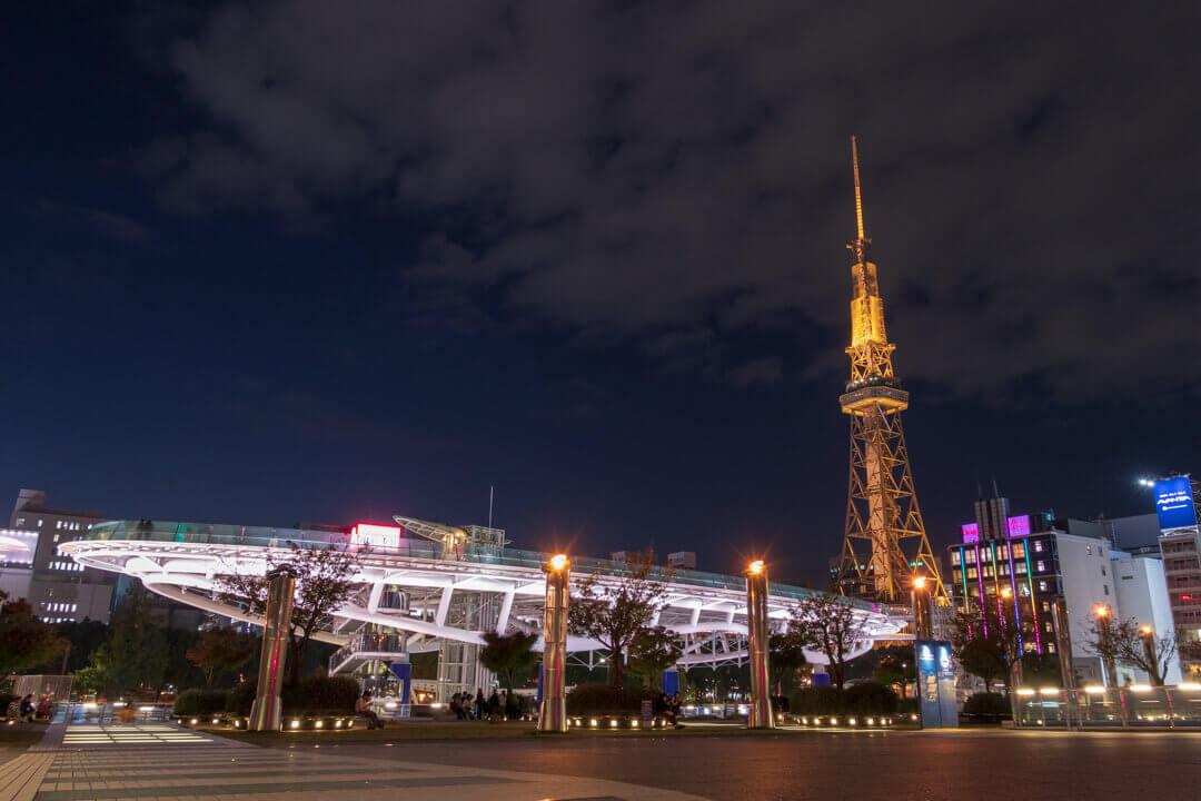 「PowerShot G1 X Mark III」で撮った夜景の作例写真
