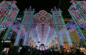 光の芸術作品!神戸ルミナリエを撮影してきた。