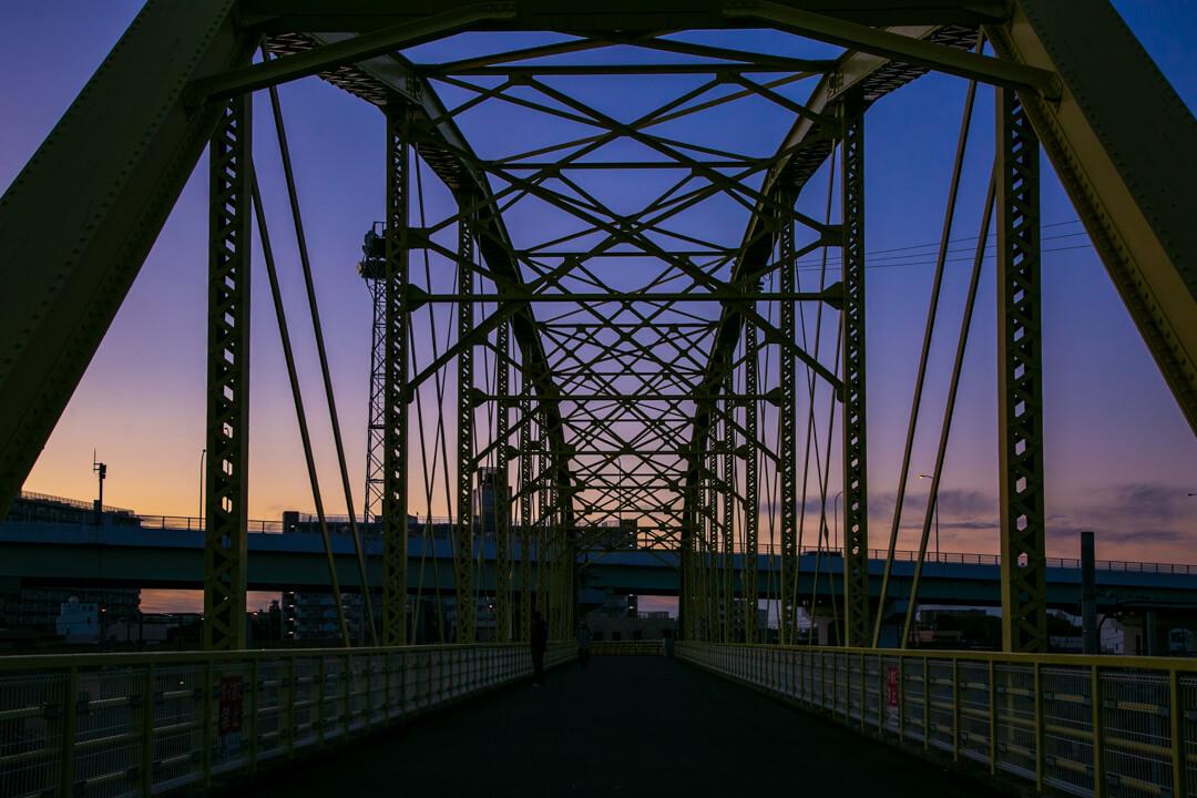 向野橋を撮影した写真