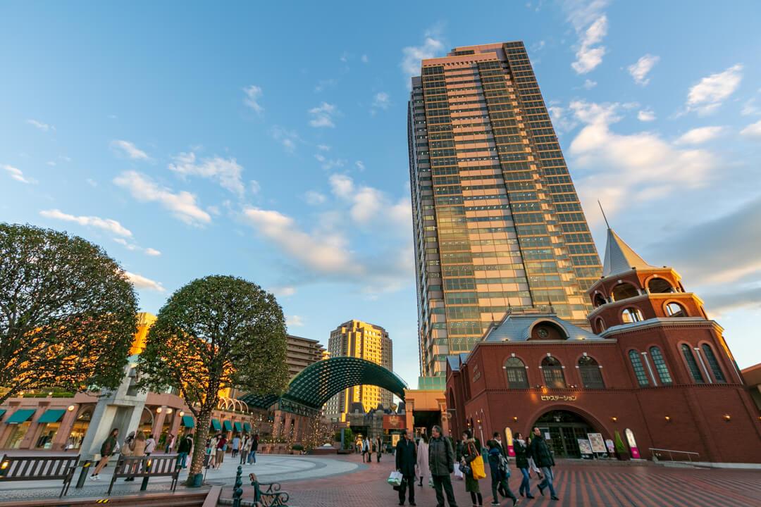 恵比寿ガーデンプレイスの外観の写真