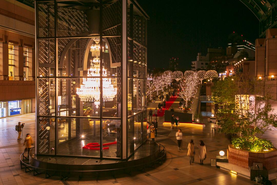恵比寿ガーデンプレイスのバカラの写真