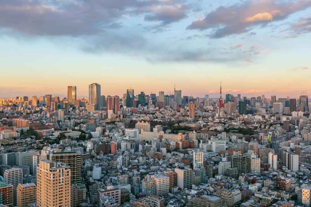 恵比寿ガーデンプレイス展望台・スカイラウンジの景色