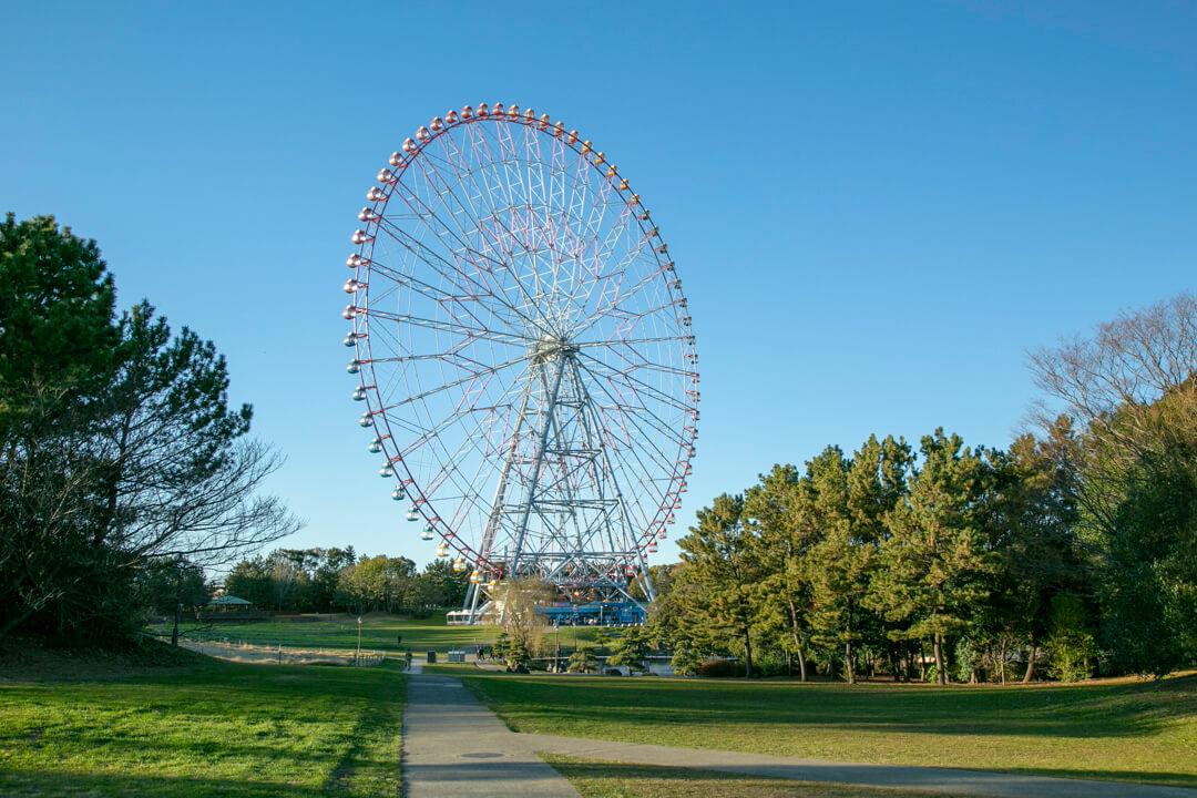葛西臨海公園・ダイヤと花の大観覧車の写真