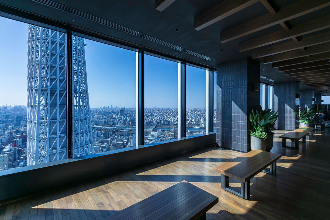 スカイツリーイーストタワー展望エリアの写真