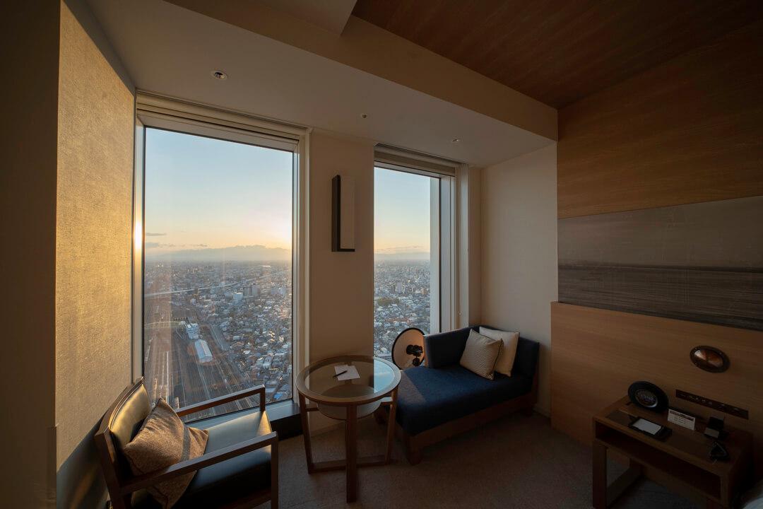 名古屋プリンスホテル客室・スカイキングルーム