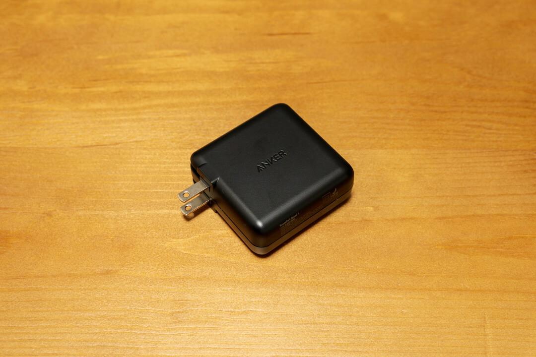 折りたたみ式プラグを採用したAnker PowerPort Speed 4