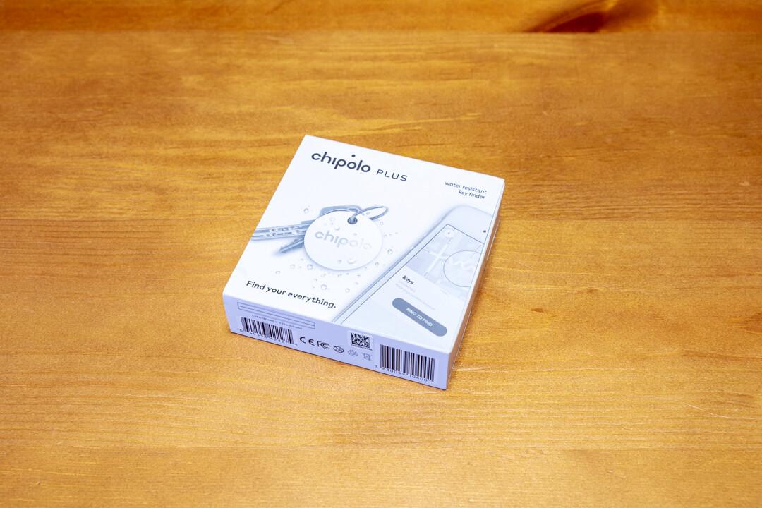 紛失防止タグChipoloの製品パッケージ