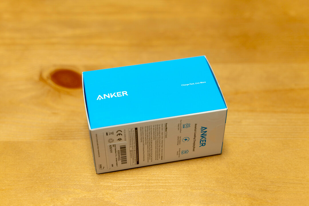 Anker PowerWave 7.5 Standの化粧箱