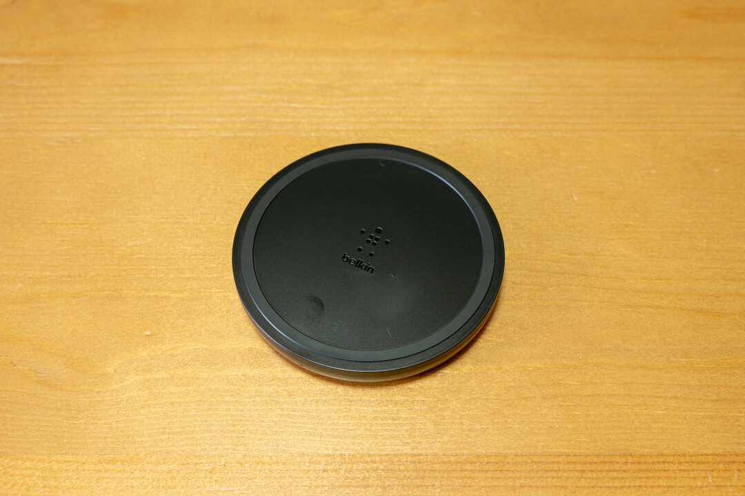 Belkin BOOST UP ワイヤレス充電パッドの写真