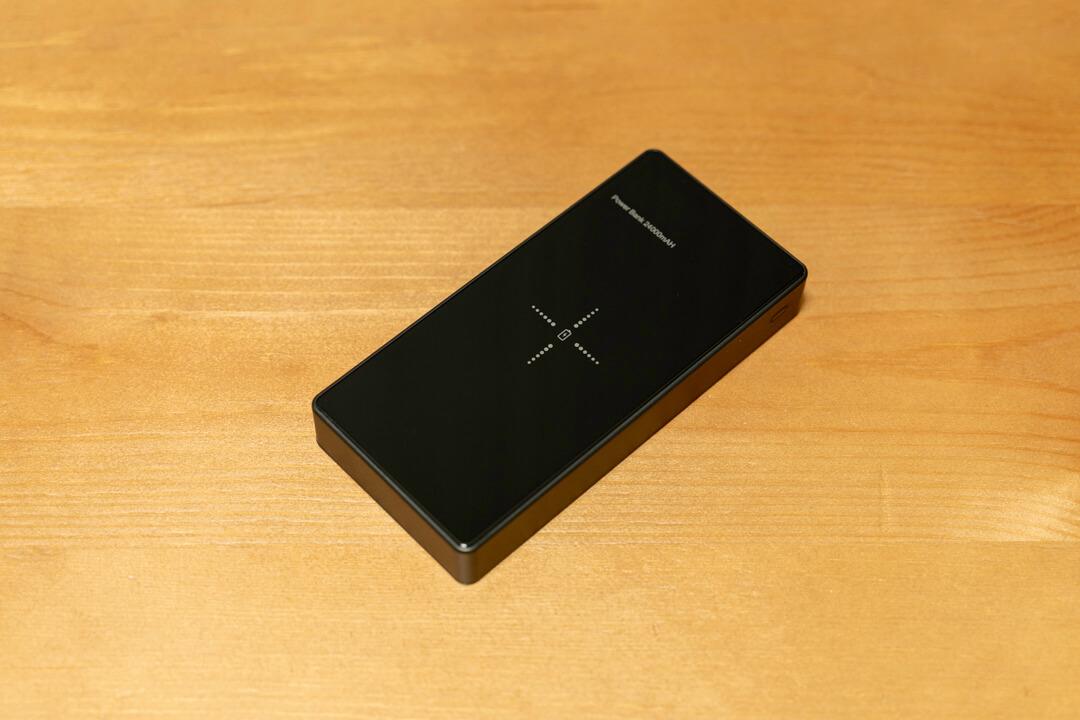 Qi対応・モバイルバッテリー「LAKKO-NEW-24000」の本体