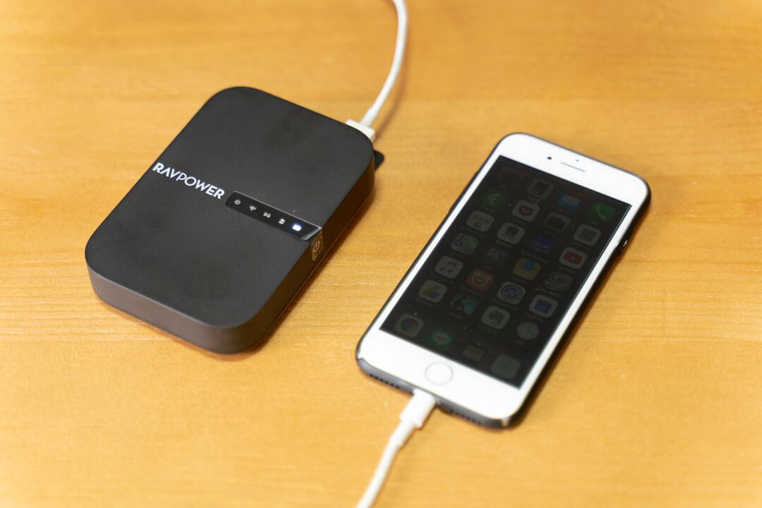 RAVPower File Hub RP-WD009(ワイヤレスカードリーダー)