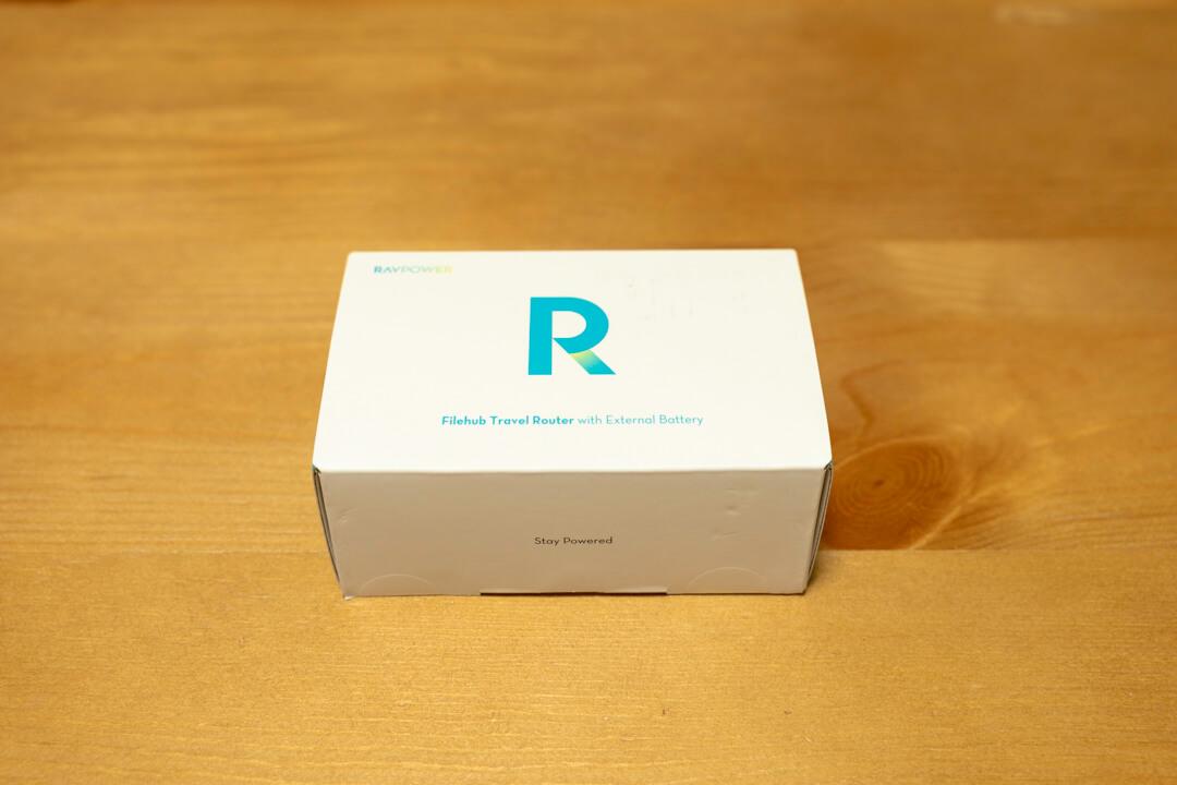 RAVPower File Hub RP-WD009の化粧箱