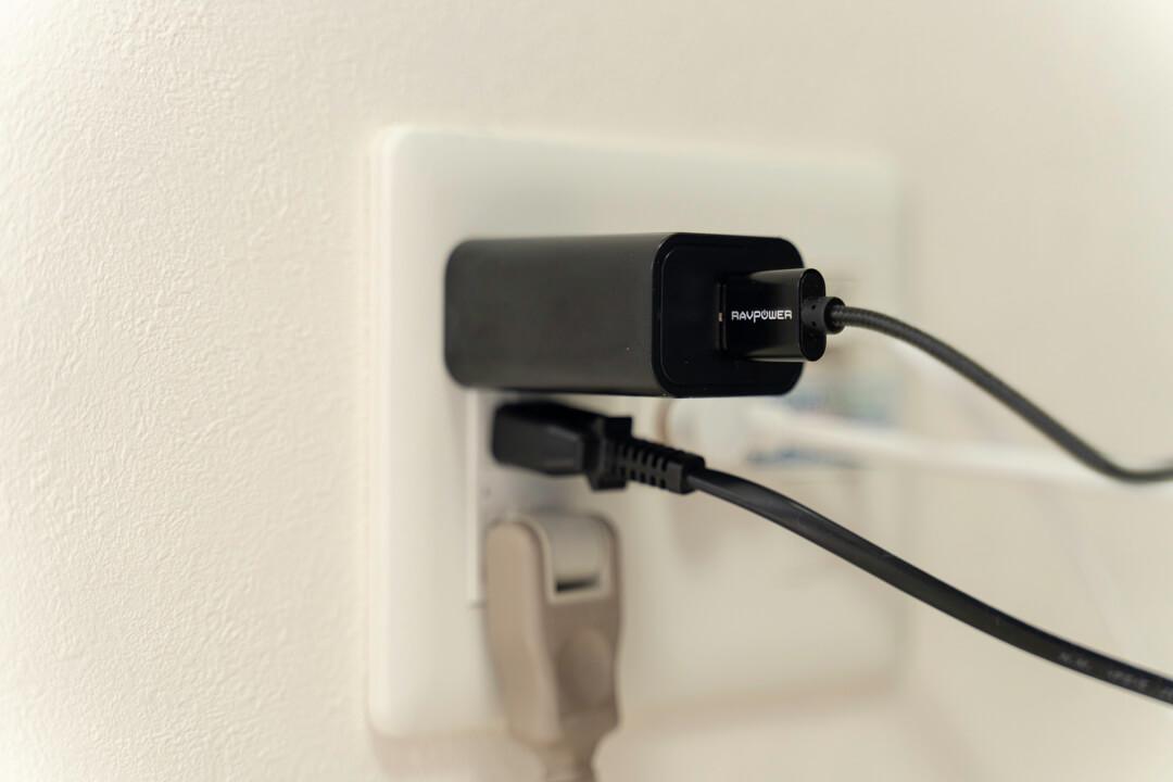 RAVPower「RP-PC069」に付属するUSB充電器